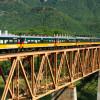 Viaggi in treno, guardando il mondo dal finestrino