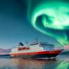 Aurora boreale sul postale Hurtigruten