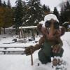 Scia con i Troll al circolo Polare Artico