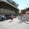 Il confine di cipro nord e cipro sud