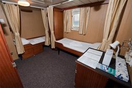 M/N POLAR PIONEER , hotel, sistemazione alberghiera