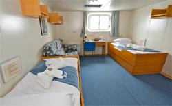 M/N AKADEMIK IOFFE , hotel, sistemazione alberghiera