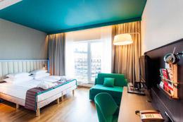 PARK INN BY RADISSON CENTRAL , hotel, sistemazione alberghiera
