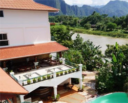 VANSANA VANG VIENG   , hotel, sistemazione alberghiera