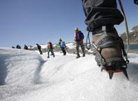 SVALBARD, Sul ghiacciaio