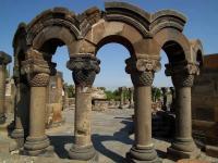 ARMENIA, Cattedrale di zvartnots - unesco