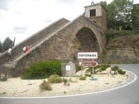 SPAGNA, Ponte romano a portomarin