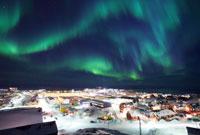 SVALBARD, Aurora boreale