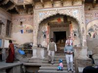 INDIA, Mandawa, haveli, gli affreschi