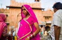 INDIA, Bikaner, ingresso di junagarh