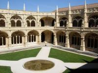 PORTOGALLO, Lisbona, chiostro del monastero di jeronimos