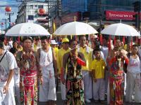 THAILANDIA, BIRMANIA, PHUKET, FESTA DEL VEGETARIANESIMO