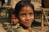 , vietnam, viso di donna