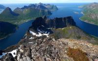 NORDEUROPA, la regione di Tromso, un fiordo