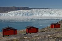 GROENLANDIA, Camp Eqi, disko bay, Groenlandia
