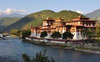 INDIA, BHUTAN - PARO DZONG