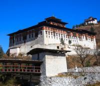INDIA, BHUTAN - RINPUNG DZONG
