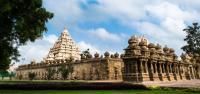 INDIA, Tamil nadu tempio di kailasanathar