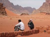 GIORDANIA, giordania, deserto