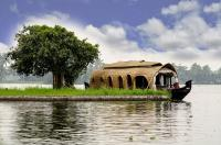INDIA, ALLEPPY BACKWATERS