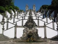 PORTOGALLO, Braga, santuario di bom jesus do monte