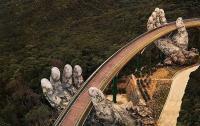 VETNAM, CAMBOGIA, LAOS, GOLDEN BRIDGE BA NA HILSS