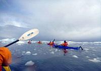 SVALBARD, In kayak alle svalbard