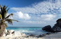 MESSICO, spiaggia caraibica messicana (playa caribe)