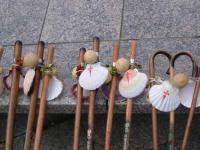 SPAGNA, il bastone dei pellegrini
