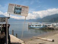 CILE, Porticciolo sul Lago Atitlan