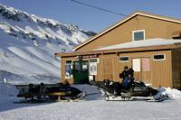 SVALBARD, la partenza da longyearbyen