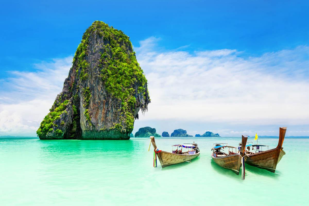 THAILANDIA: IL MARE DI PHUKET E SAMUI