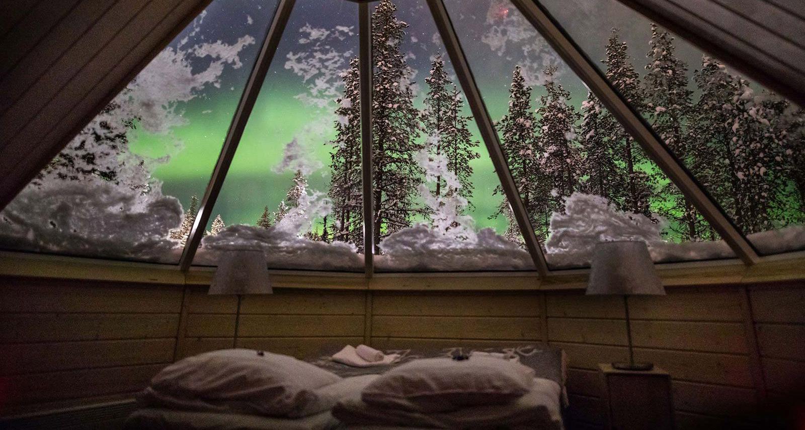 Viaggio in Scandinavia: Autunno Nella Lapponia Finlandese E L'aurora Boreale