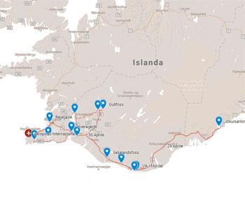 ISLANDA, 27 APRILE VOLO SPECIALE DA ROMA E TORINO
