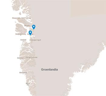 GROENLANDIA, LA DISKO BAY , LA COSTA ED IL SUD 2018