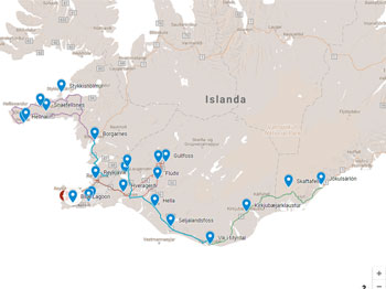 ISLANDA CON AUTO A NOLEGGIO, INVERNO 2017/2018