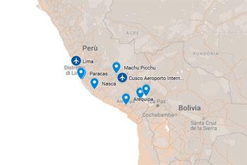 PERU' TOUR DI GRUPPO ED INDIVIDUALI 2018