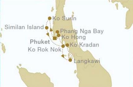 CROCIERA IN THAILANDIA